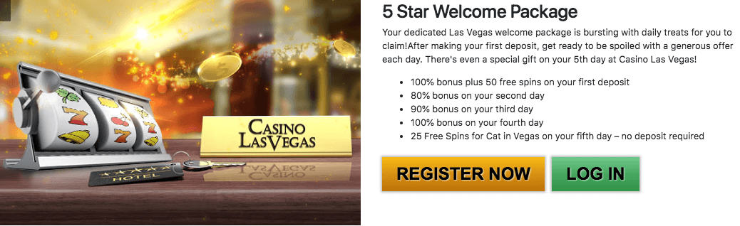 ★ Claim a 100% Reload Bonus up to C$200 on your Fourth Deposit at Casino Las Vegas