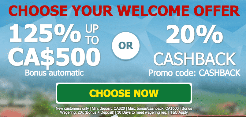 ★ Grab a 20% Cashback Bonus at SCasino