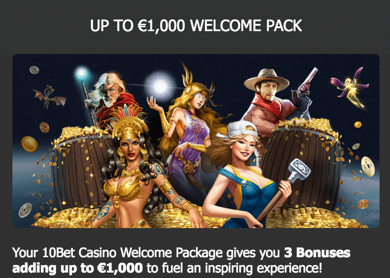 ★ Deposit and Claim a C$1000 Welcome Package at 10Bet Casino