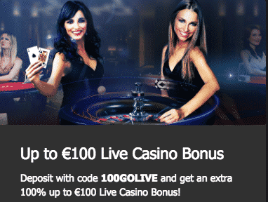 ★ Grab a 100% Match Bonus up to C$100 on Live Casino at 10Bet Casino