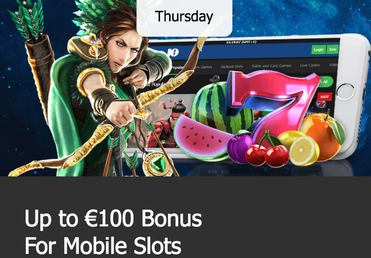 ★ Claim a 25% Match Bonus up to C$100 on Mobile at 10Bet Casino