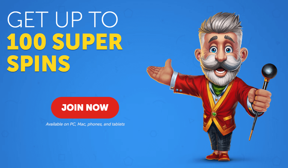 ★ 100% First Deposit Bonus up to 100 Free Spins at Lucky Louis