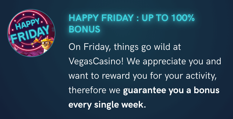 ★ Get 100% Match Bonus up to C$250 at VegasCasino