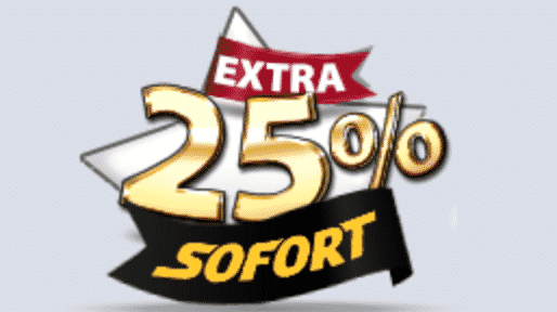 ★ Get a 25% Match Bonus with Sofort at Winspark Casino