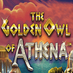 Golden Owl of Athena logo