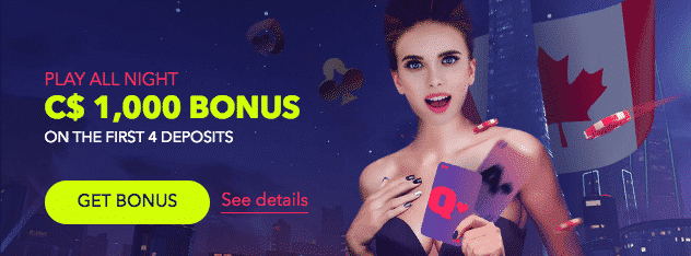 ★ Get a 100% Match Bonus up to C$100 on First Deposit at NightRush Casino