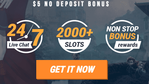 ★ Register and Get C$5 No Deposit Bonus at King Billy Casino
