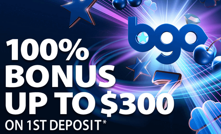 ★ Get a 100% First Deposit Bonus up to C$300 at BGO Casino
