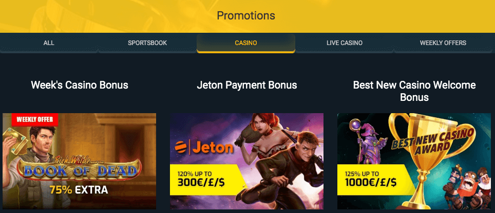 Campeonbet Bonuses & Codes → August 2019