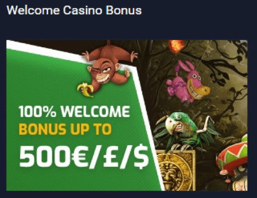 ★ Get 100% Welcome Bonus up to C$500 at Evobet