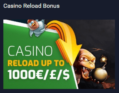 ★ Claim 50% up to C$1000 Reload Bonus at Evobet