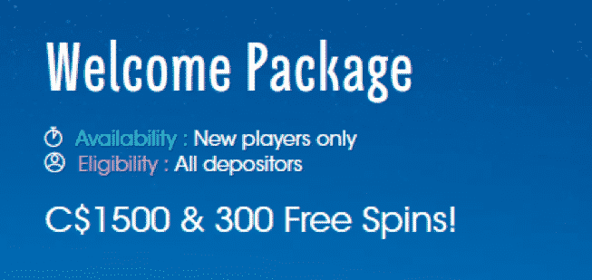 ★ 25% Reload Bonus up to C$400 on Fourth Deposit at Sloty