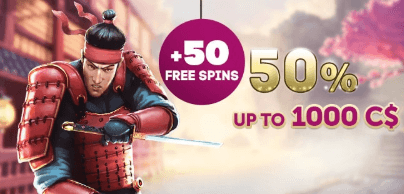 ★ Grab 50% Second Deposit Bonus up to C$1000 + 50 Free Spins on Lucky Blue at PlayAmo