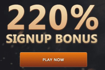 ★ Get Your Welcome Bonus of 220% at Slots Empire