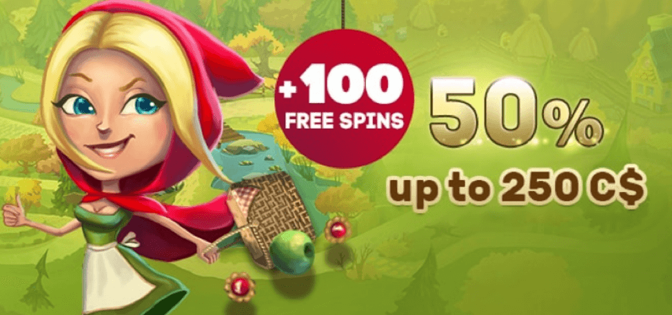 ★ 50% Reload Bonus up to C$250 + 100 Free Spins on A Christmas Carol at PlayAmo