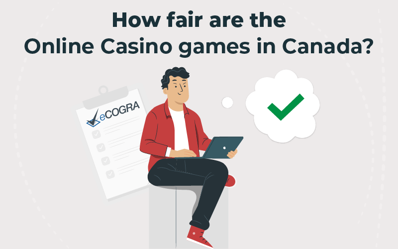 How fair are the online casino games in Canada