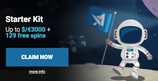★ Welcome Package up to C$3000 + 129 Extra Spins at AstralBet Casino