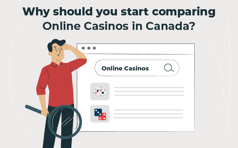 Why should you start comparing online casinos in Canada