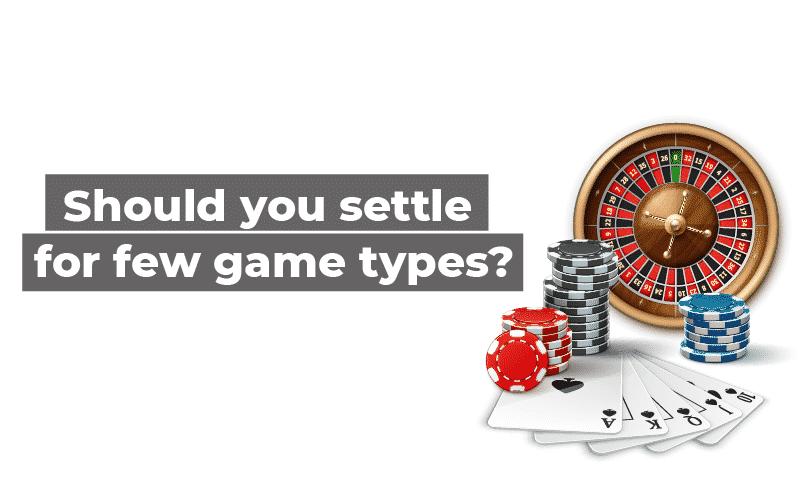 online casino game type
