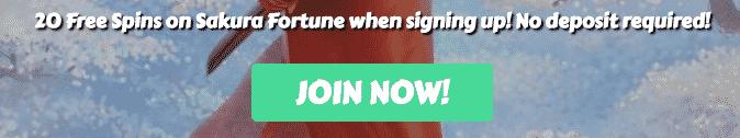 ★ Register and Get 20 Free Spins on Sakura Fortune at MyChance