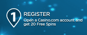 ★ 20 Registration Free Spins on Age of the Gods at Casino.com