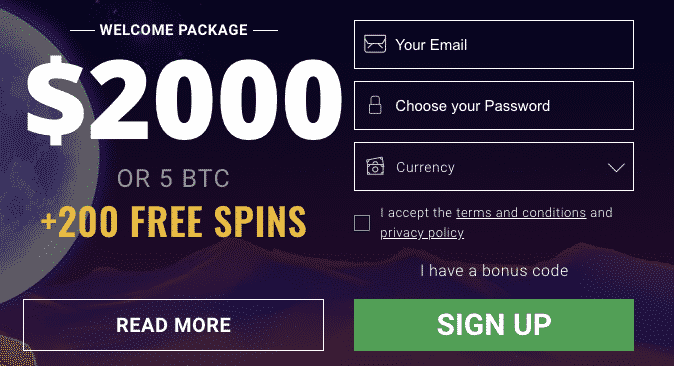 ★ First Deposit Bonus: 100% up to C$400 or 1 BTC + 180 Free Spins at Bitstarz