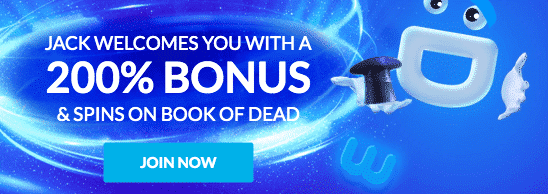 ★ First Deposit Bonus of 200% up to C$50 + 30 Free Spins on Rich Wild and the Book of Dead at Wild Jackpots