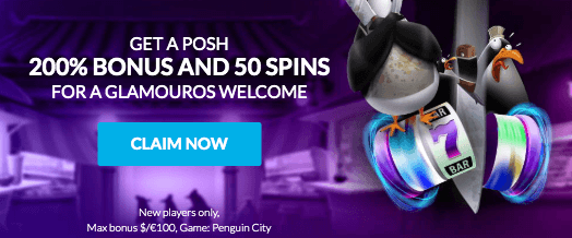 ★ Get a First Deposit Bonus: 200% up to C$100 + 50 Free Spins on Penguin City at Wild Jackpots