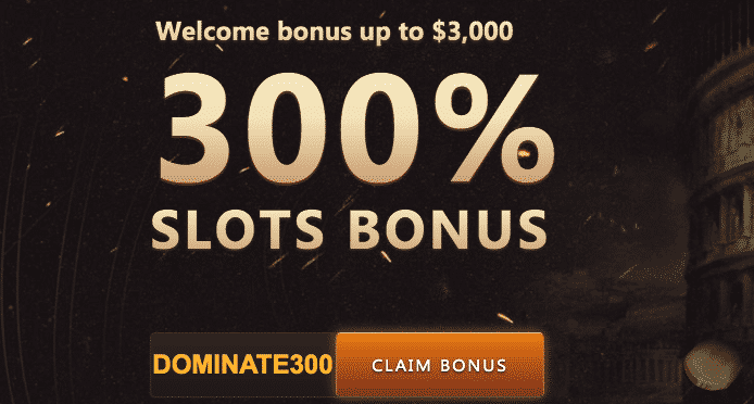 ★ 300% Welcome Bonus up to C$3000 at Slots Empire Casino