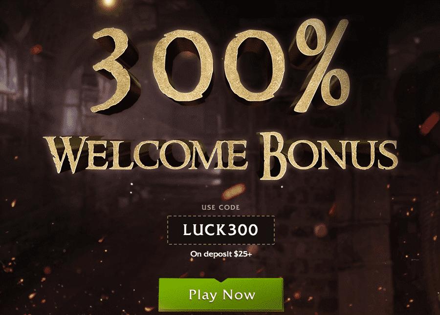 ★ Grab a 300% Welcome Bonus at Irish Luck Casino