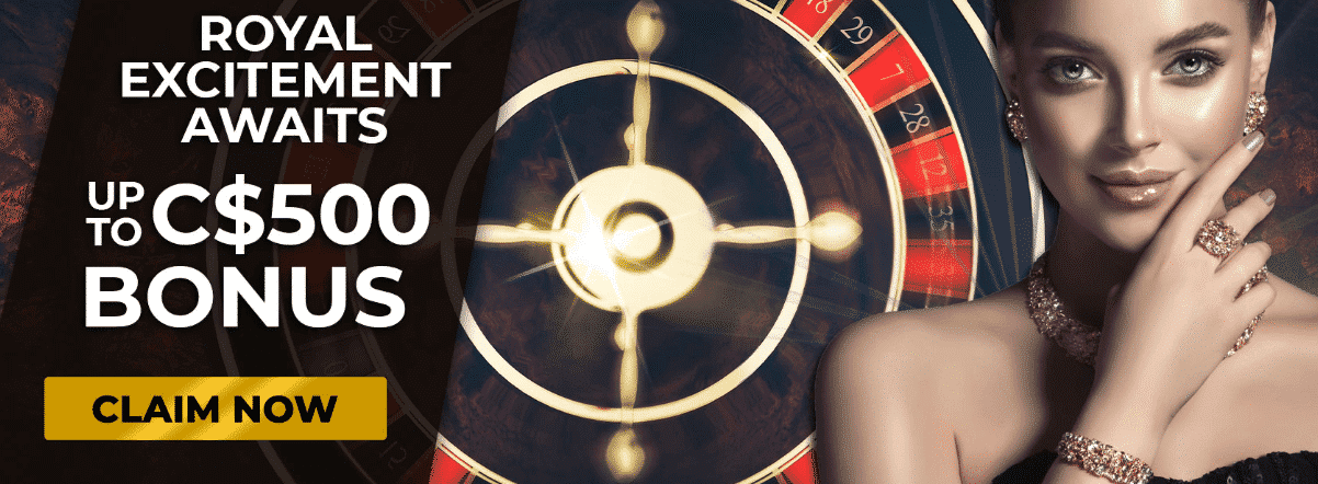 ★ Roulette Welcome Package up to C$500 at Regent Casino
