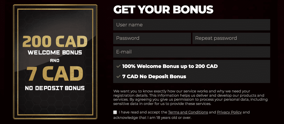 ★ Claim a Welcome Package + C$7 No Deposit at Energy Casino