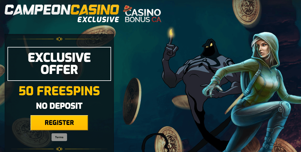 ★ 50 Free Spins at Campeonbet