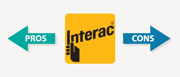 interac casinos pros and cons