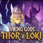 Viking Gods Thor & Loki logo