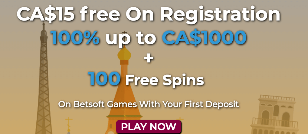 ★ 100% First Deposit Bonus up to C$1000 + 100 Free Spins at Casino Dingo