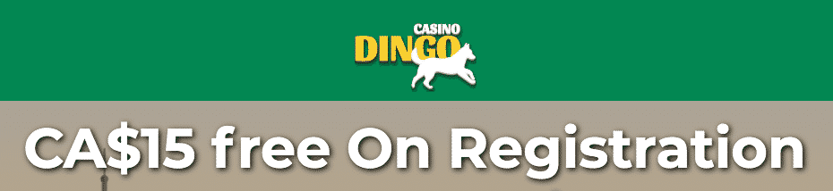 ★ C$15 Free Bonus on Registration at Casino Dingo