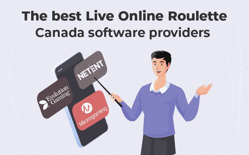live online Roulette Canada software providers