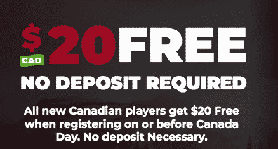 ★ C$20 No Deposit Bonus at Power Play