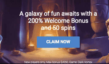 ★ 200% First Deposit Bonus up to C$50 + 50 Free Spins on Dark Vortex at AstralBet