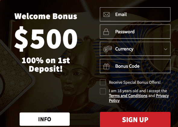★ 100% Welcome Package up to C$500 + 450 Free Spins at Wildblaster