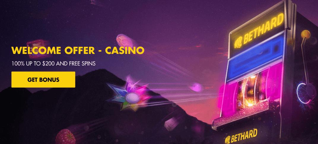 ★ 100% First Deposit Bonus up to C$200 + up to 250 Free Spins at BetHard Casino