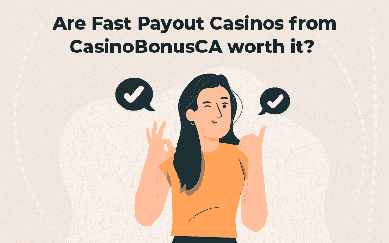 fast payout casinos from CasinoBonusCA