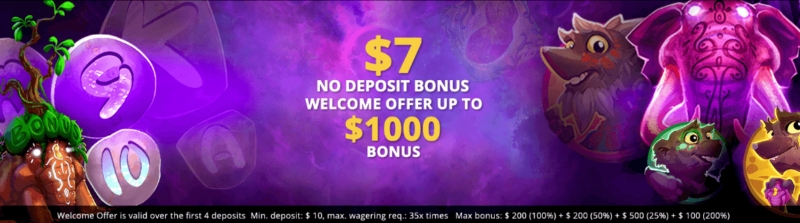 ★ C$7 No Deposit + up to C$1000 Welcome Package at LVBET