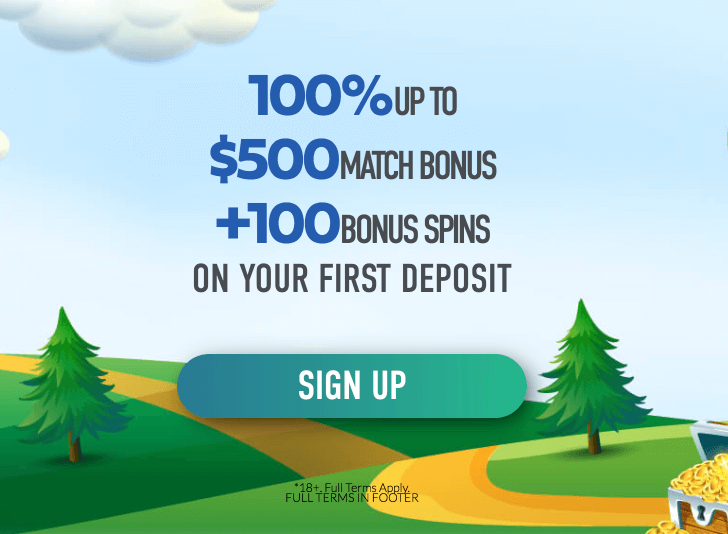 ★ 100% up to C$500 + 100 Free Spins on Book of Dead on First Deposit with Interac at Slotnite Casino