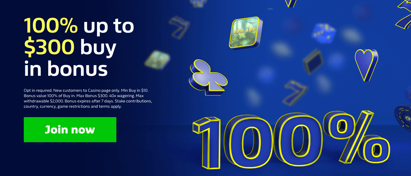 ★ 100% up to C$300 on First Deposit at William Hill