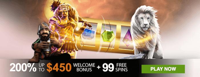 ★ 200% Welcome Bonus up to C$450 + 99 Free Spins at Winner Casino