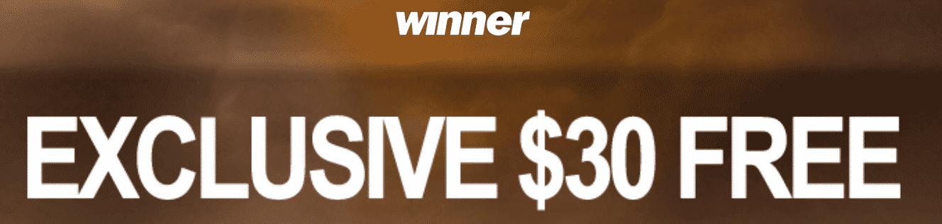 ★ C$30 No Deposit Bonus at Winner Casino