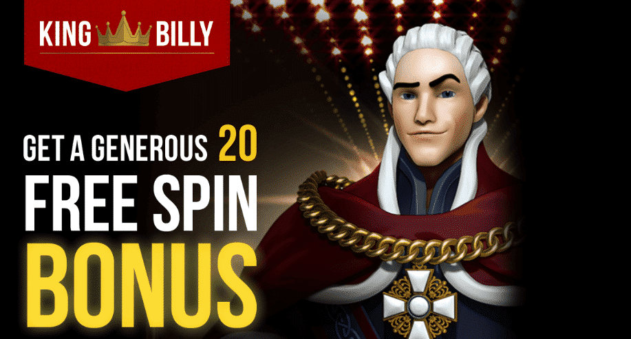 ★ 20 Free Spins Bonus on Lucky Dragon at King Billy Casino