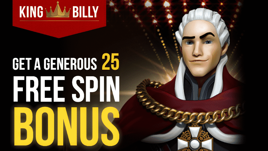 ★ 25 Free Spins Bonus on Relic Hunters and the Book of Faith at King Billy Casino
